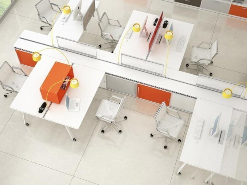 дизайн мебель для офиса хай-тек