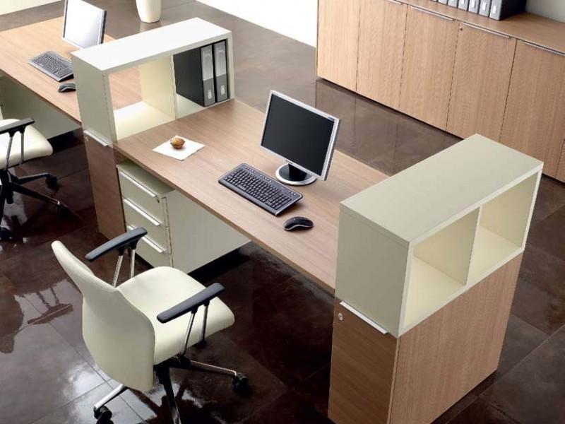 расположение офисной мебели