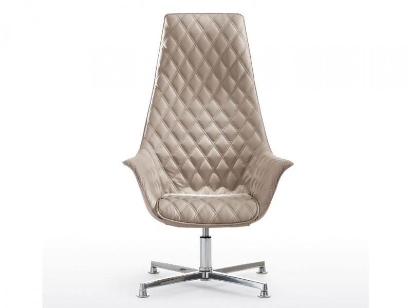 Тканевое кресло руководителя