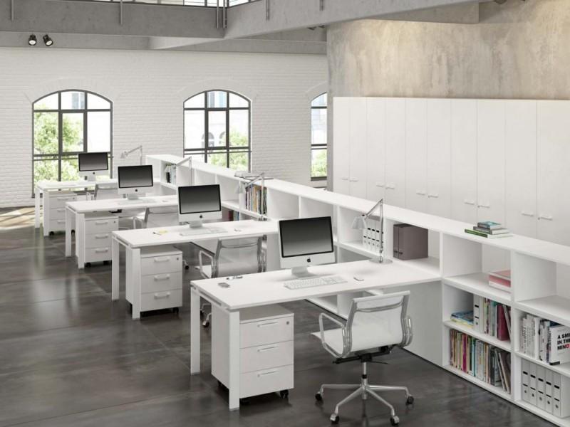 нюансы расстановки мебели в офисе