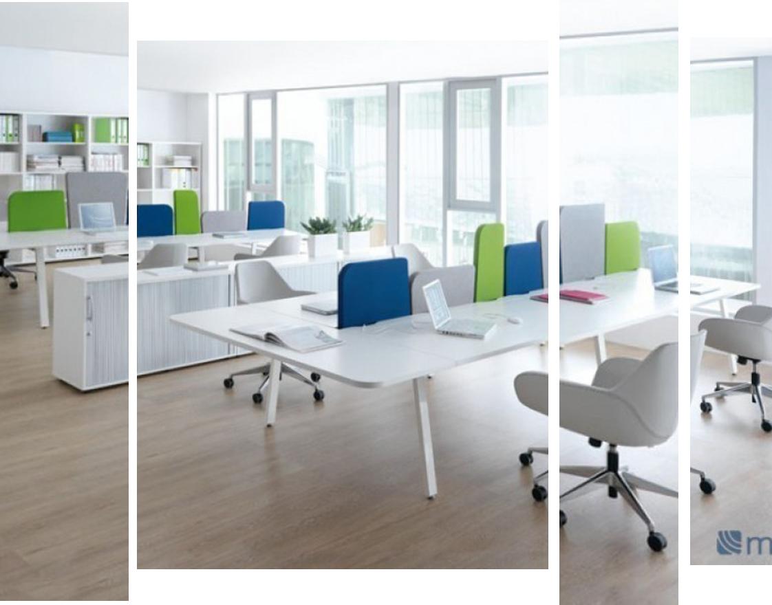 расположения мебели в офисе